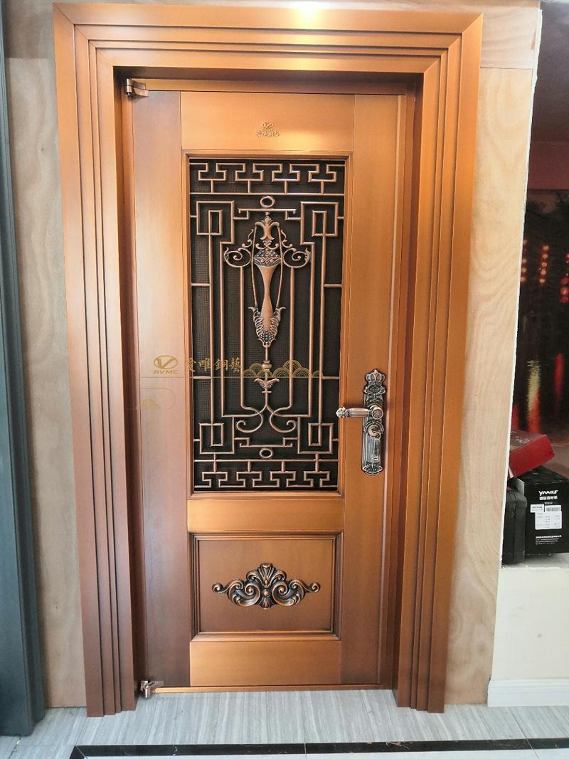 入户铜门门中门 (1)