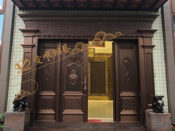 别墅铜门厂家告诉您如何辨别劣质的铜门