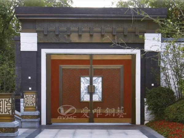 佛山别墅铜门厂家要注意品牌的建设