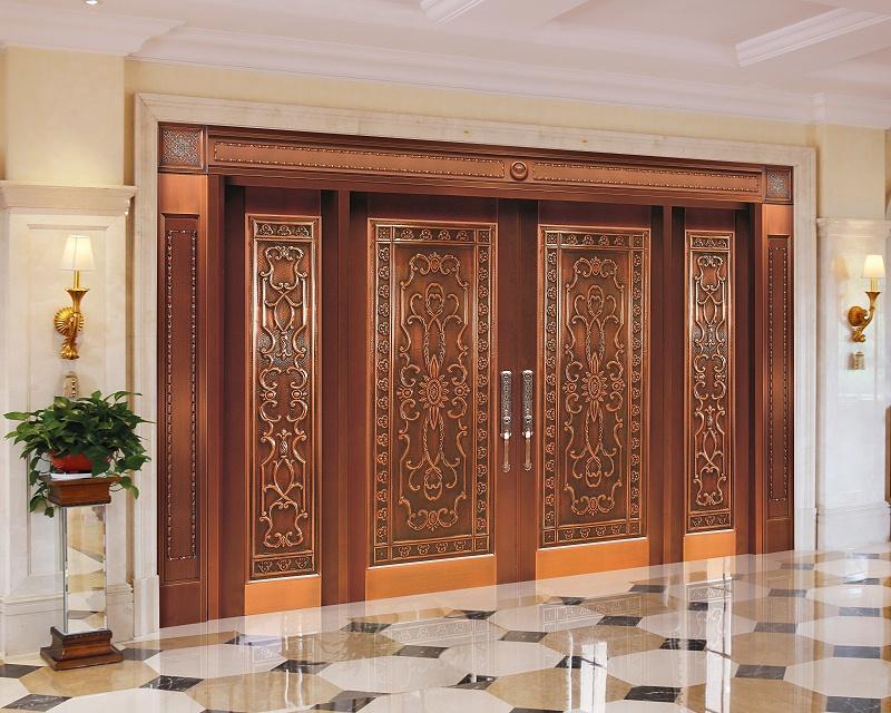 爱唯铜门四开门