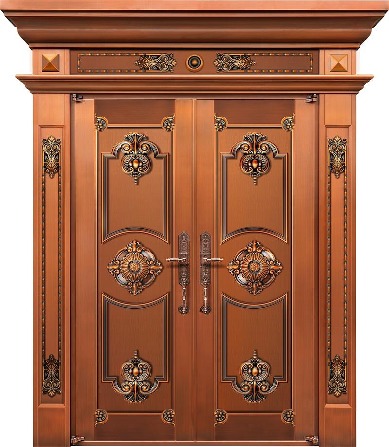 爱唯铜门对开门