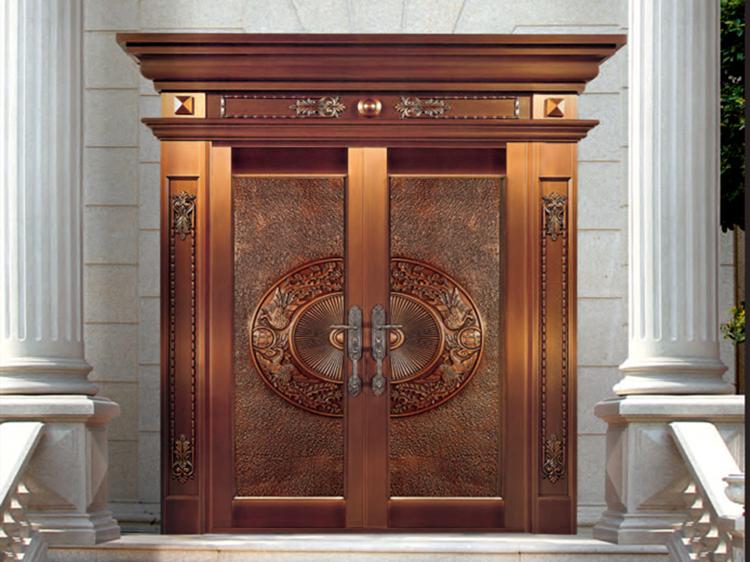 爱唯铜门-入户门