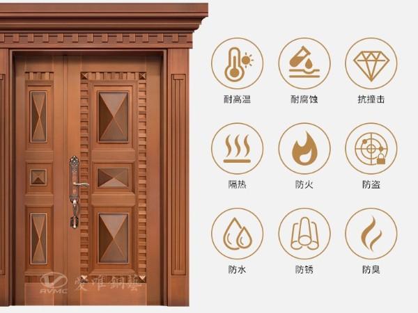 佛山别墅铜门爱唯铜艺品牌 爱唯铜门为何如此受欢迎?