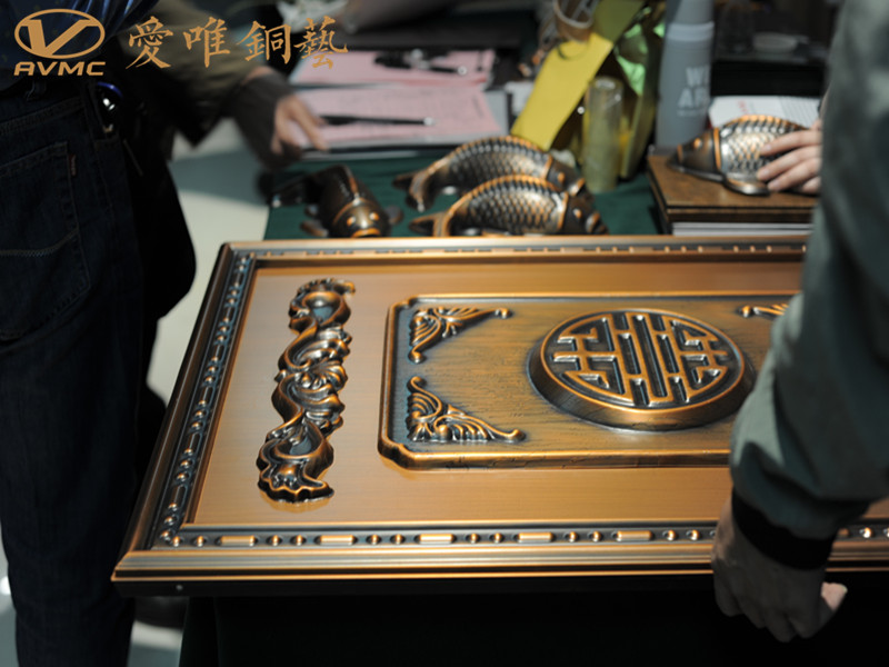 佛山南海铜门厂家爱唯铜艺