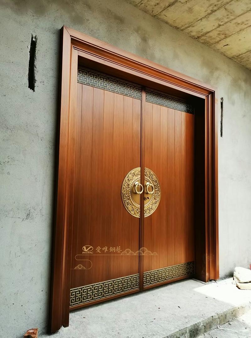 新中式铜门 (2)