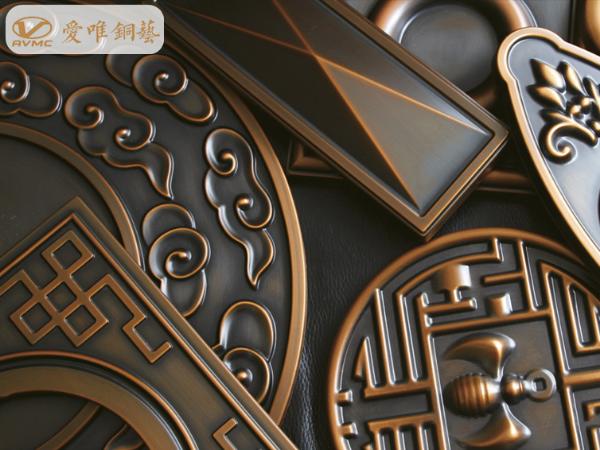 铜门铜花上有什么图案?铜花图案上的寓意又是什么?
