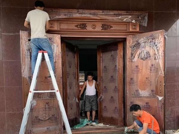 广东铜门厂家爱唯铜艺别墅铜门梅州铜门工程