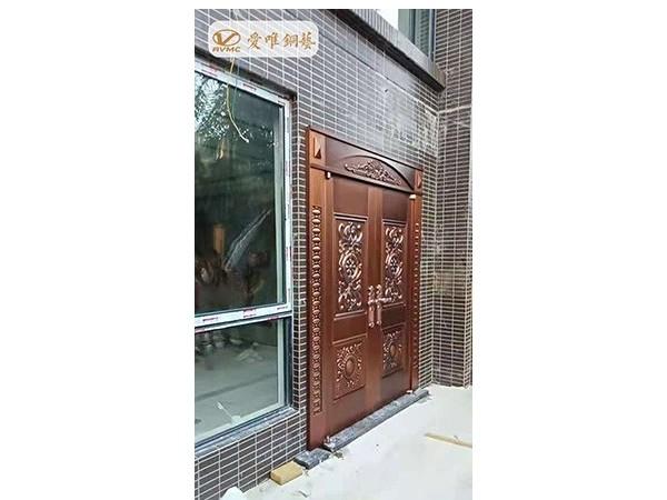广州市黄埔区爱唯铜艺工程案例