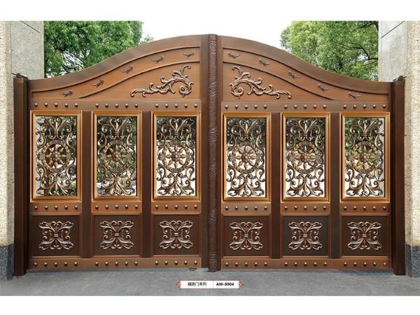 佛山铜门品牌厂家——爱唯銅兿,为您家的门面争光