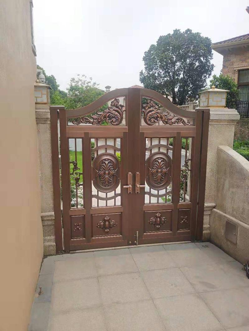 爱唯铜门 庭院铜门