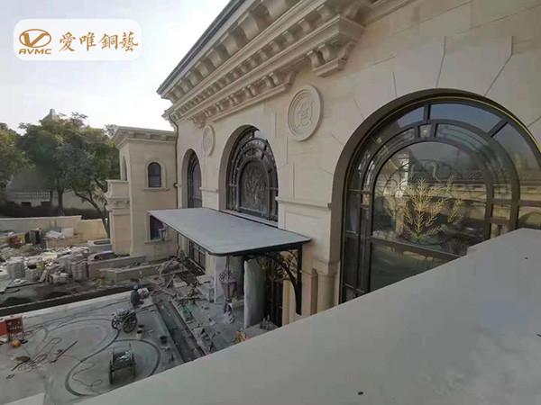 别墅铜门工程案例3 (4)_副本