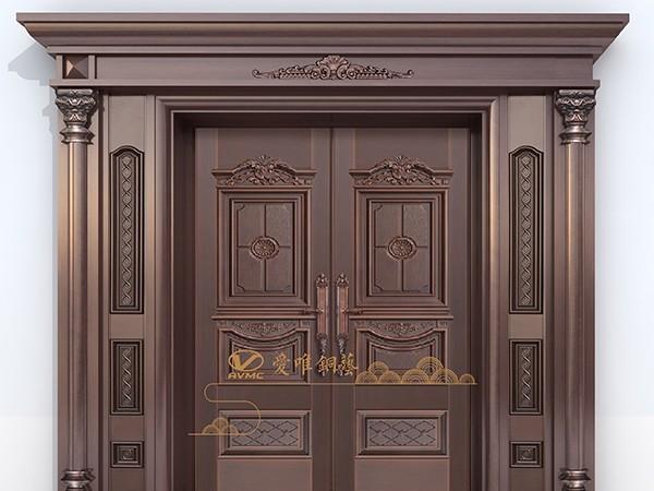 铜门生产厂家生产铜门是的注意事项
