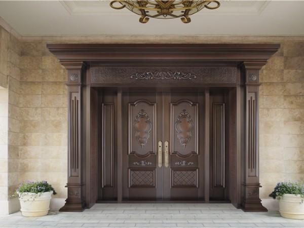 选择铜门厂家的定制铜门应该注意什么?